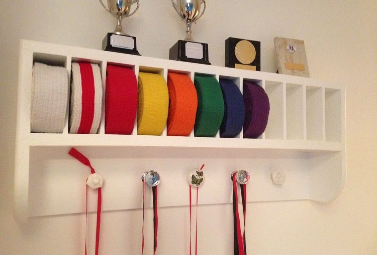 Displaying Medals in a Home